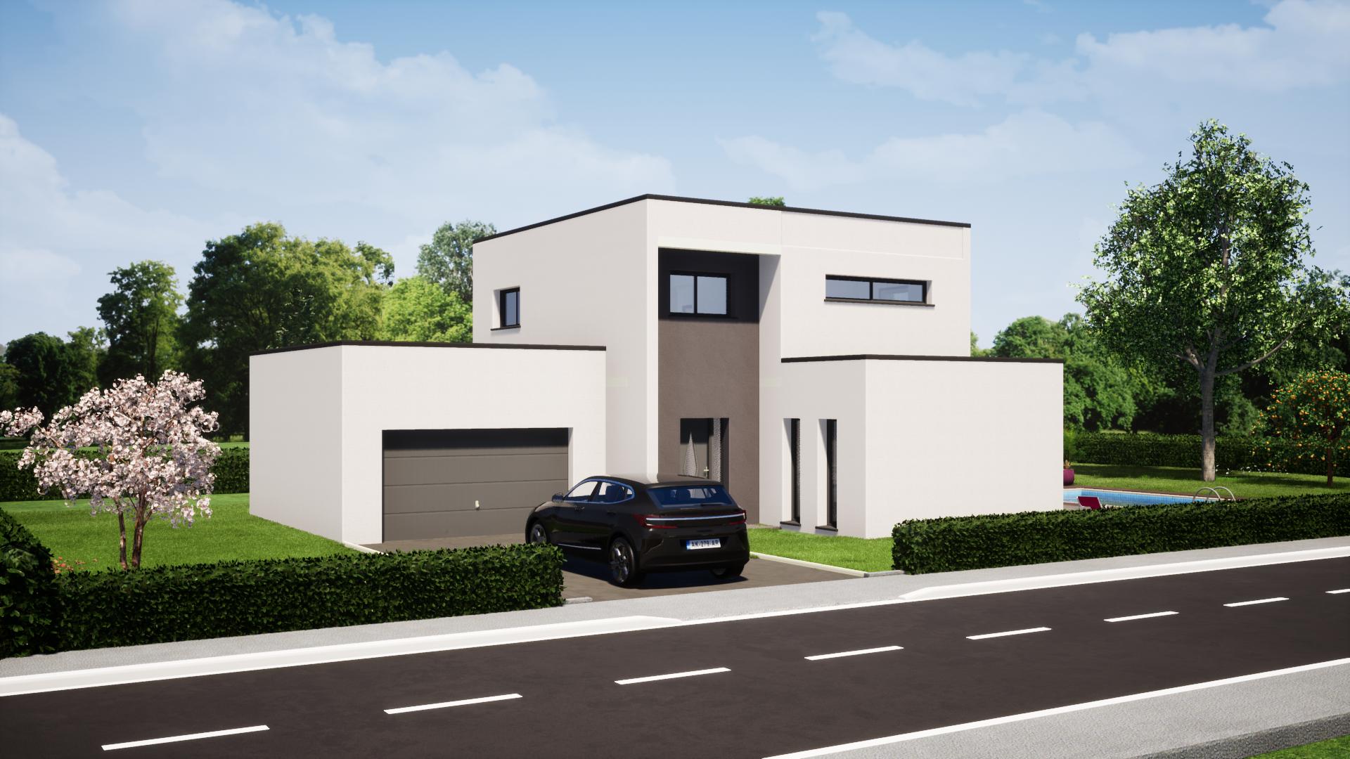 plan maison maison moderne 4 chambres maisons lg le mans maisons lg en sarthe constructeur de maison individuelle maison louplande avant